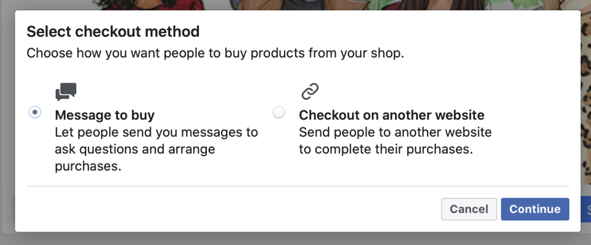 Choose the Checkout Method