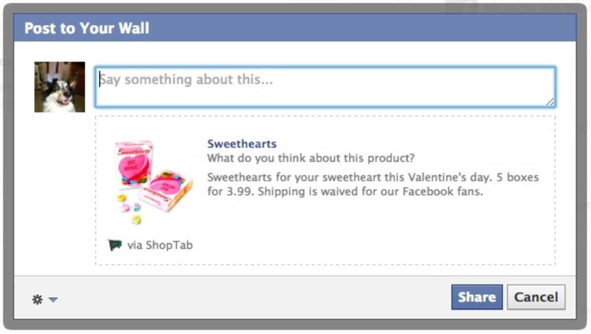 Promoting Product from Your Facebook Shop