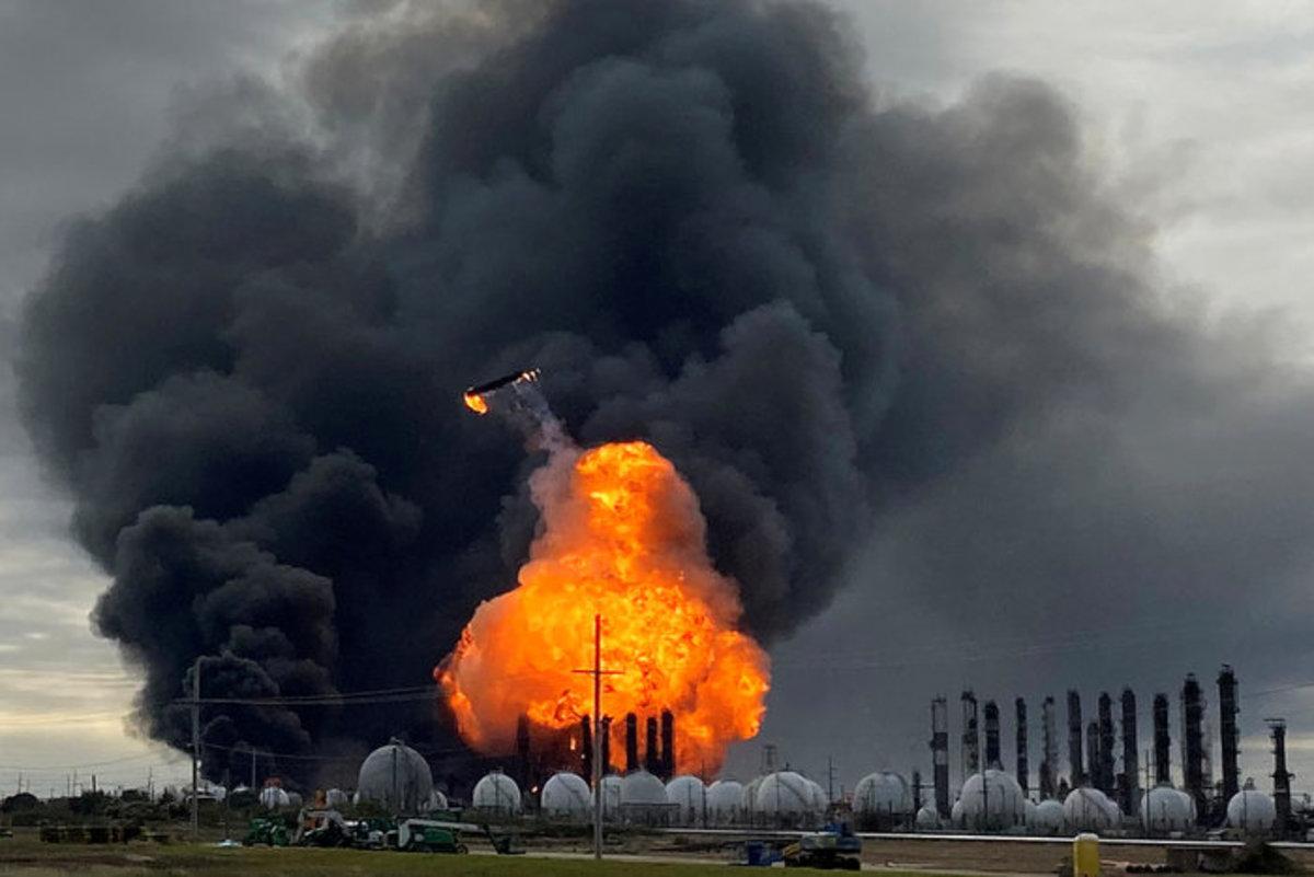 Petrochemical Plant Explosion