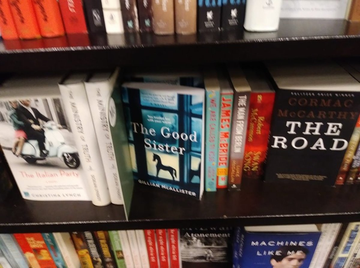 Greg Matthews should be sandwiched here between L and M in your local bookstore but alas, he is not.
