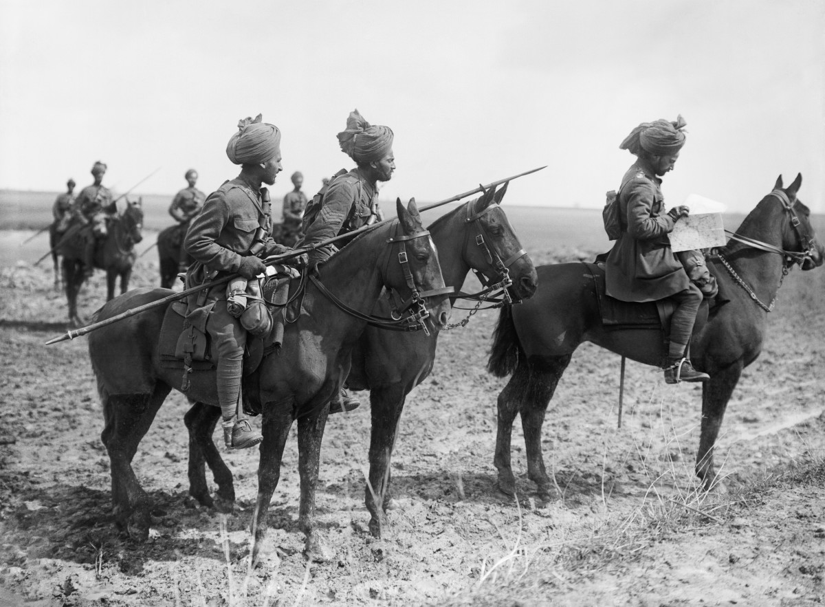 An Immortal Page From World War I: The Last Cavalry Charge of the Hyderabad Lancers