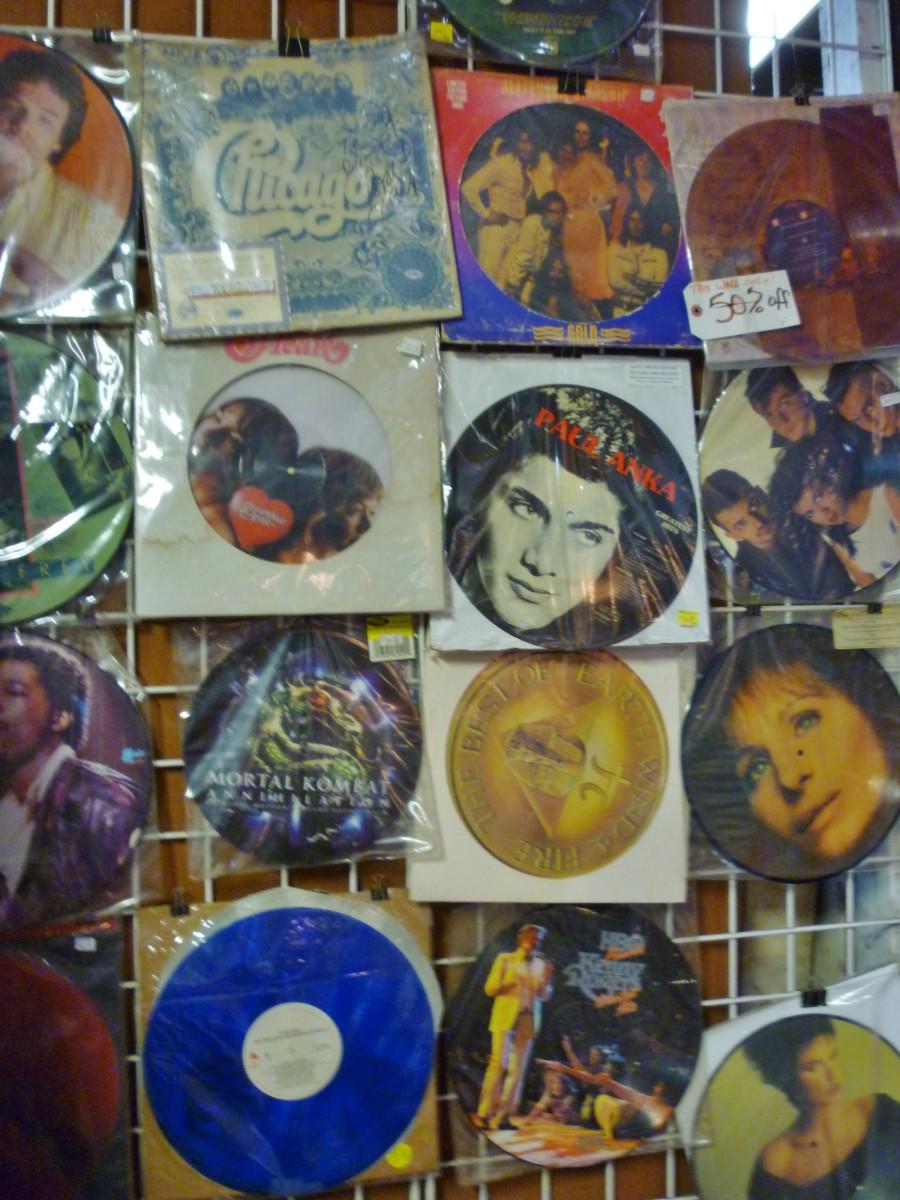 Vintage records for sale