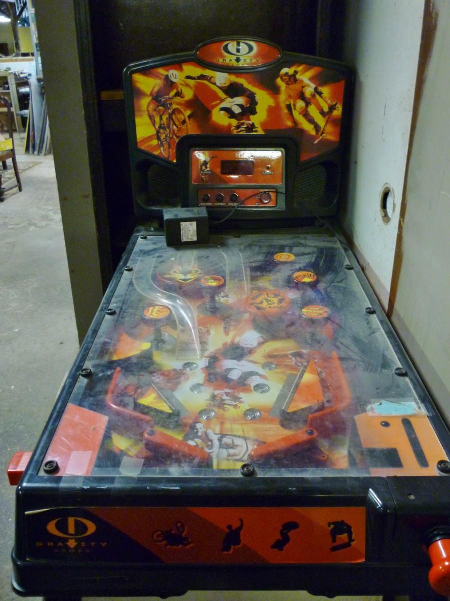 Old pinball machine