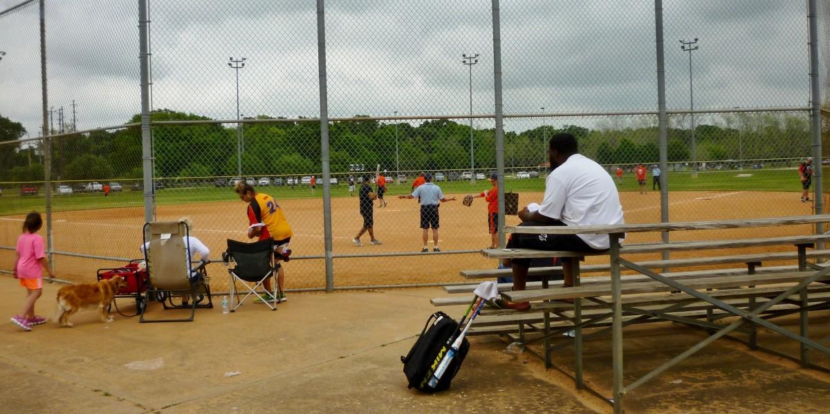 Baseball in Cullen Park