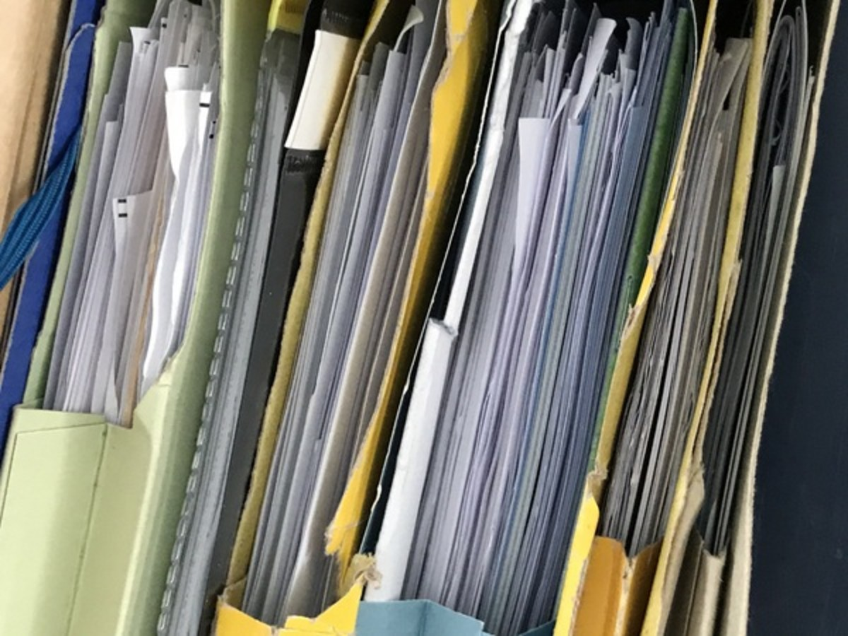 If you are like me then you will have a stack of paperwork that needs sorting.