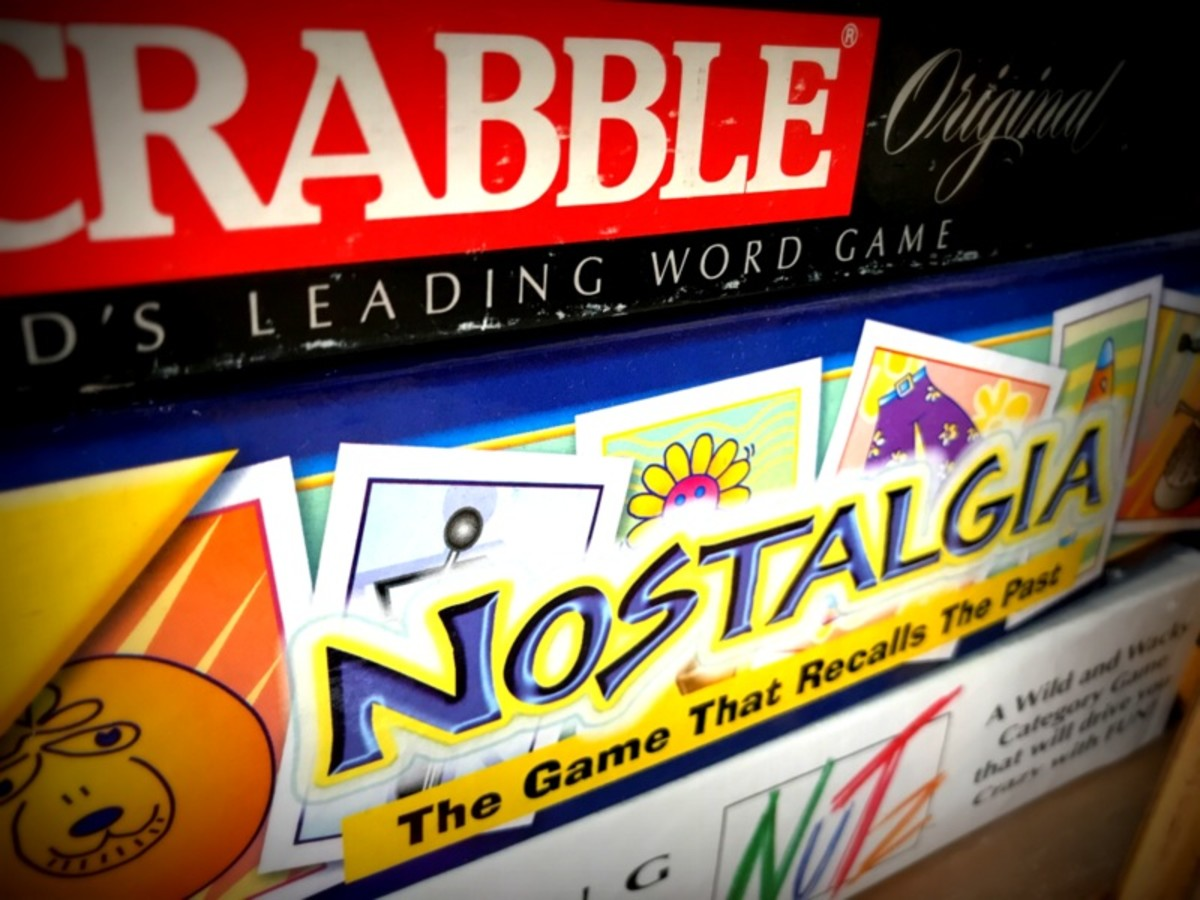 Board games are a great way to keep occupied if you are not alone in the house.