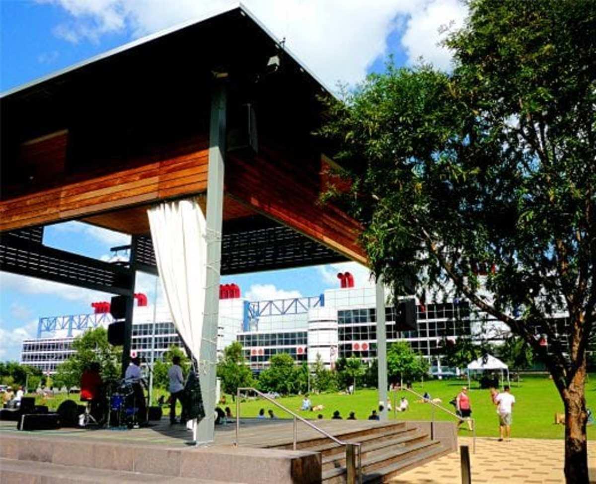 Multi-use covered pavilion