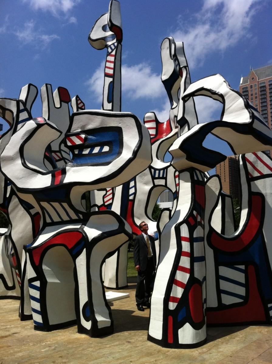 Monument Au Fantome by Jean Dubuffet