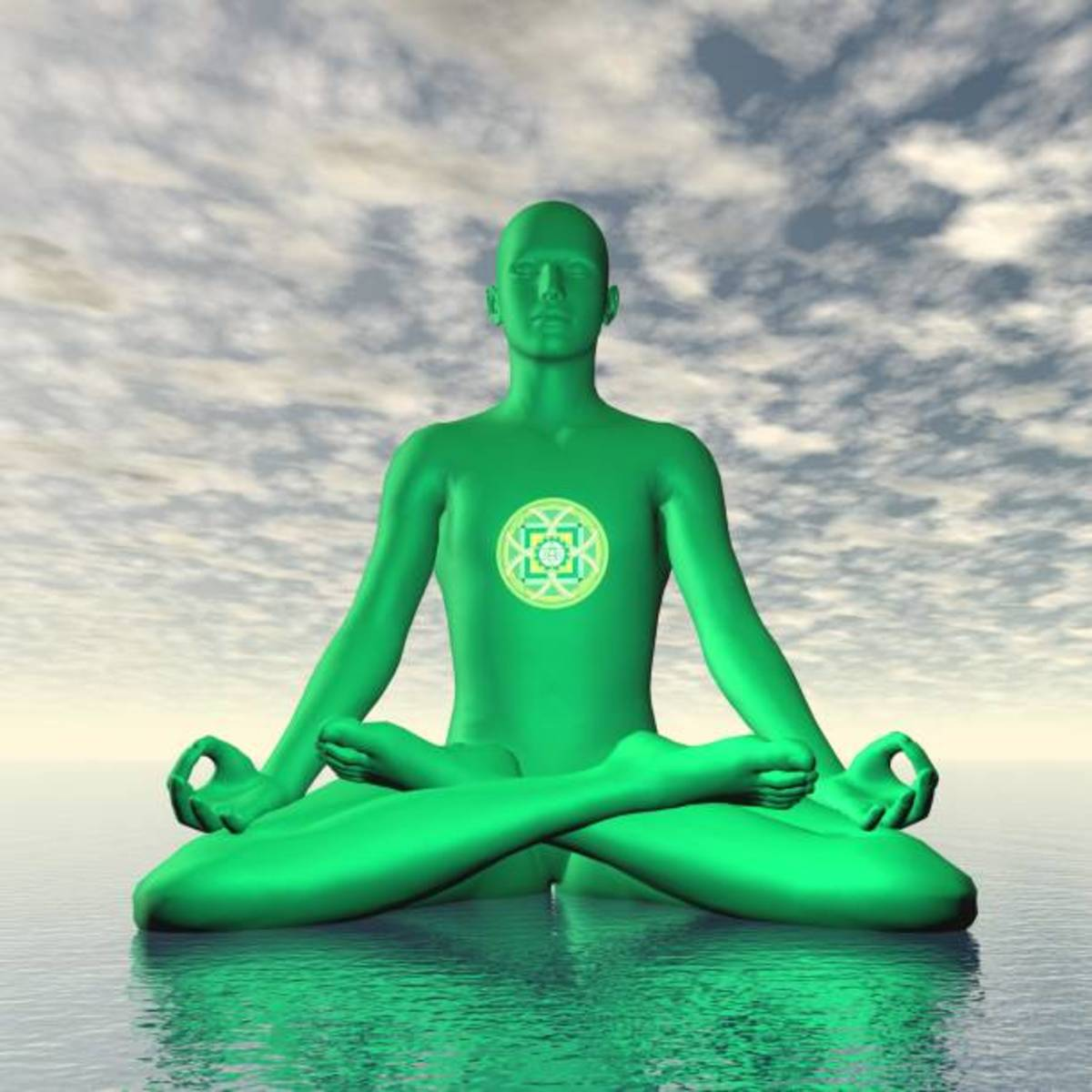 Padmasana is the recommended pose for meditation.