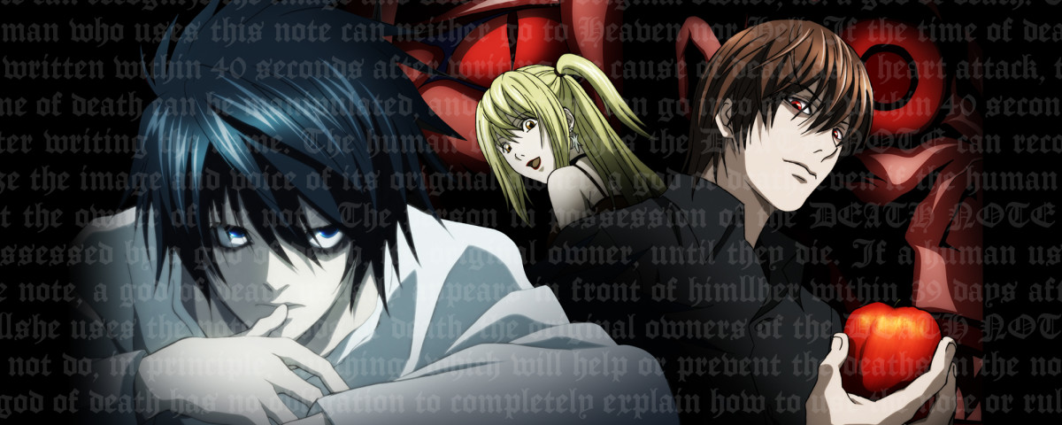 You need to watch Death Note