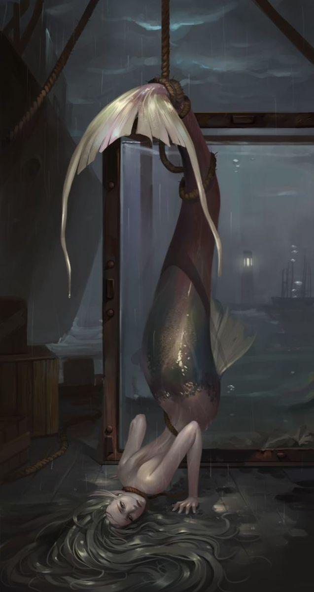 Half woman-half fish