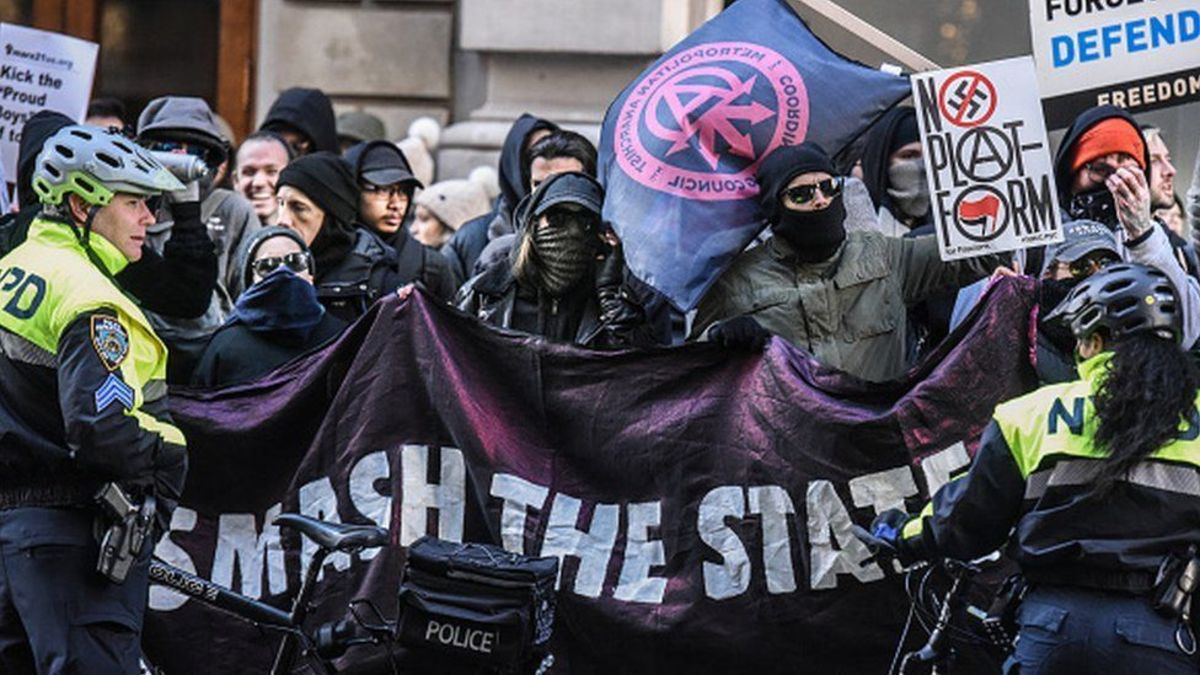Antifa wants a violent overthrow of our government