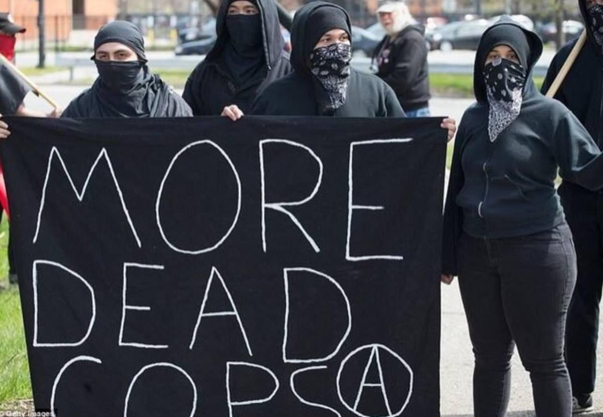 Antifa wants cops dead