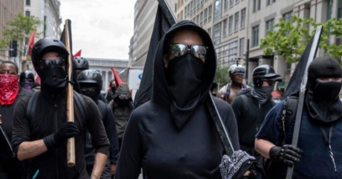 Antifa Hoodlums