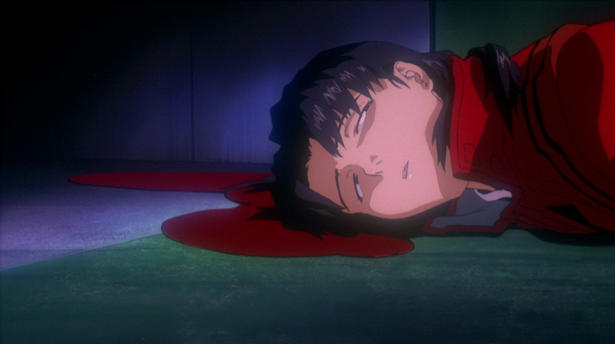 Somehow, Misato's death never made me cry.