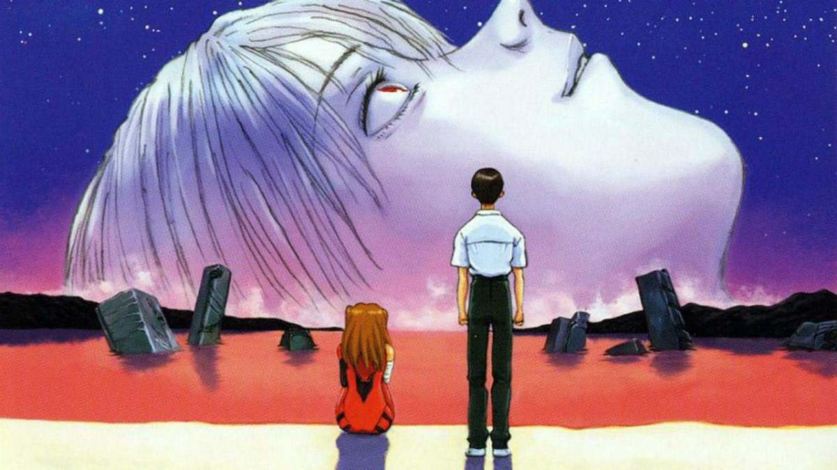 Promotional poster for The End of Evangelion.