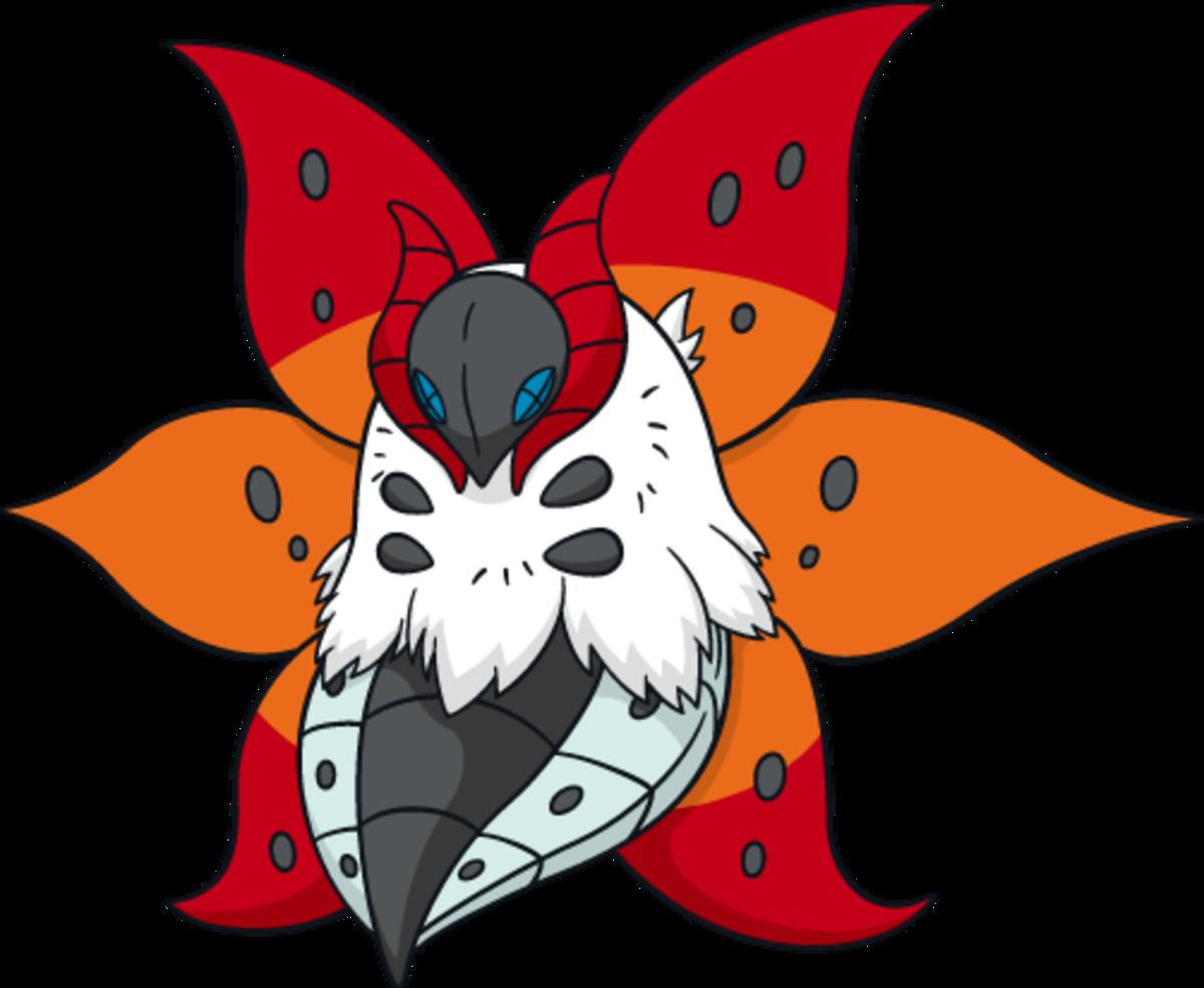 "Volcarona, the ""Sun"" Pokémon"