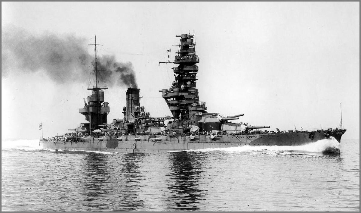 The Ugly Pagoda Mast Warships