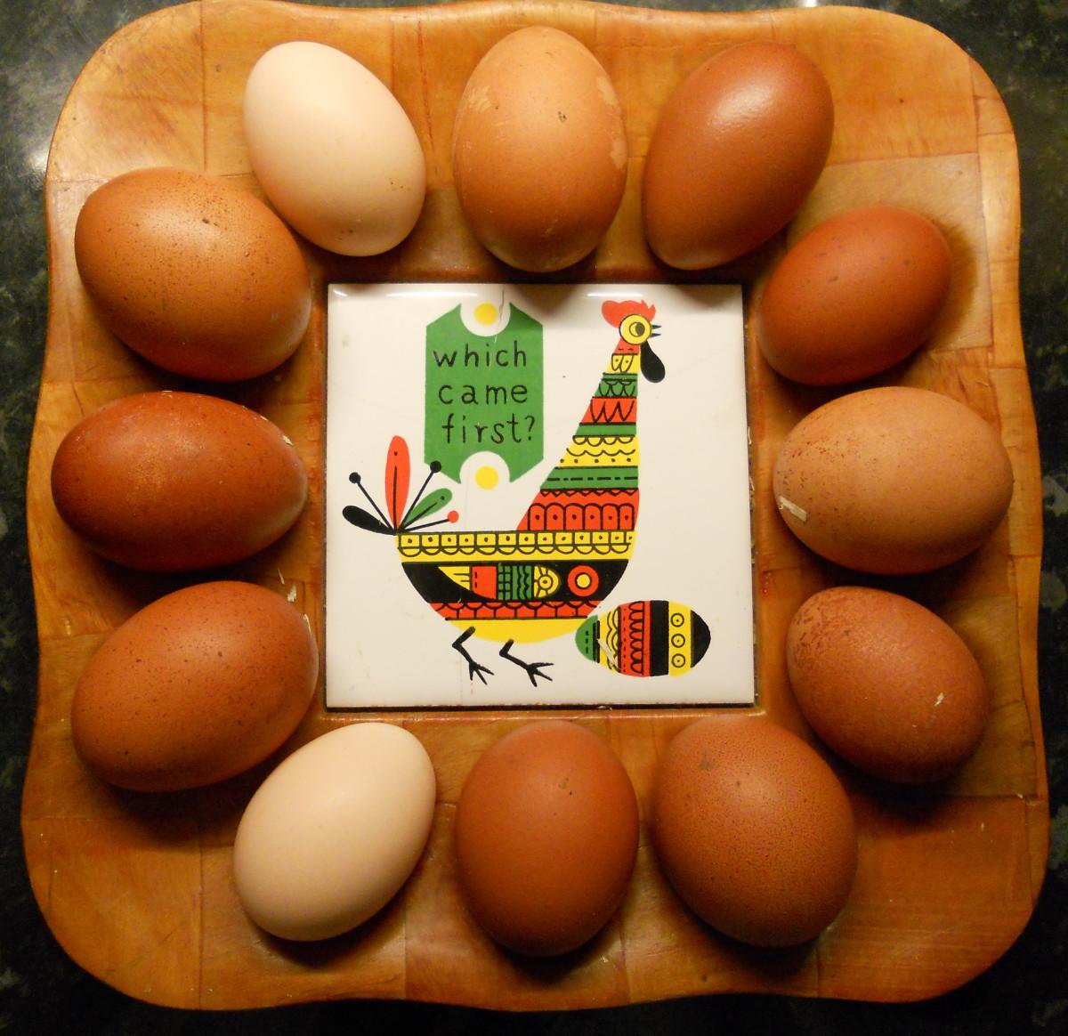Eggs are rich in vitamin D
