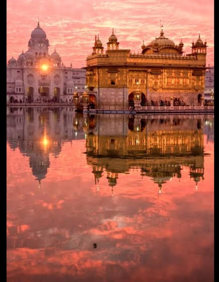 Shari haraminder sahib (golden temple ) is a gurdwara located in Amritsar, Punjab, India.