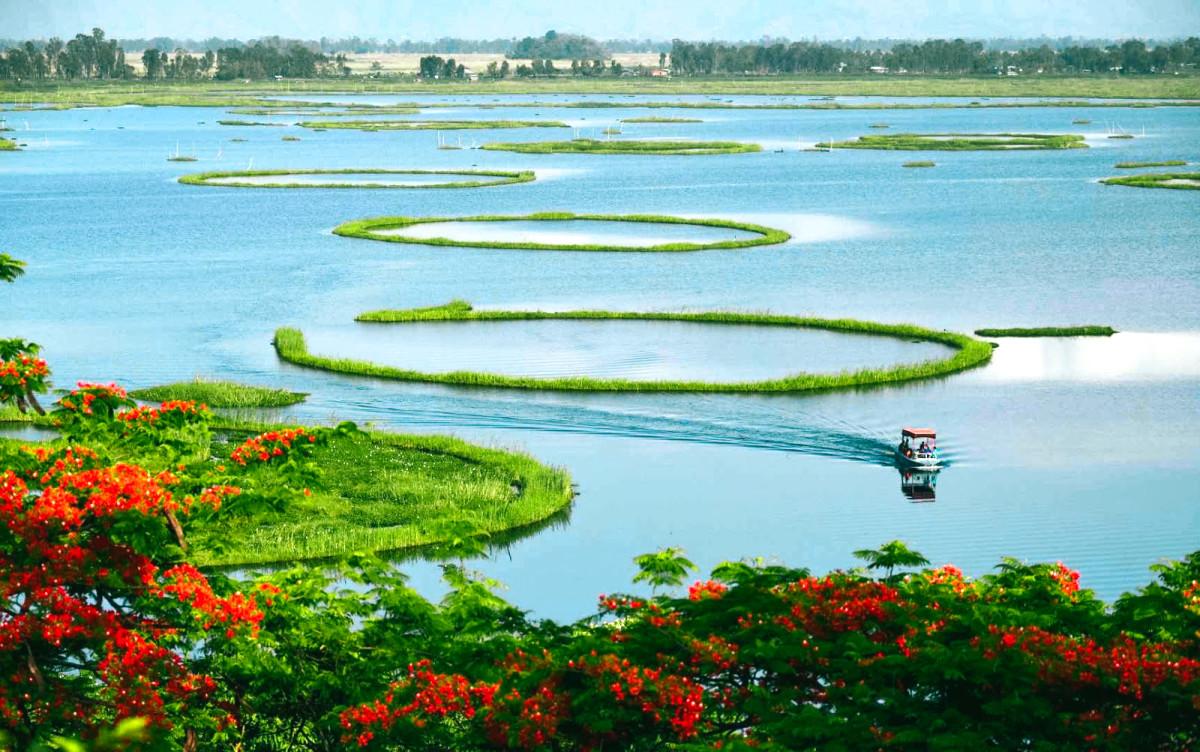 Floating lake of Manipur