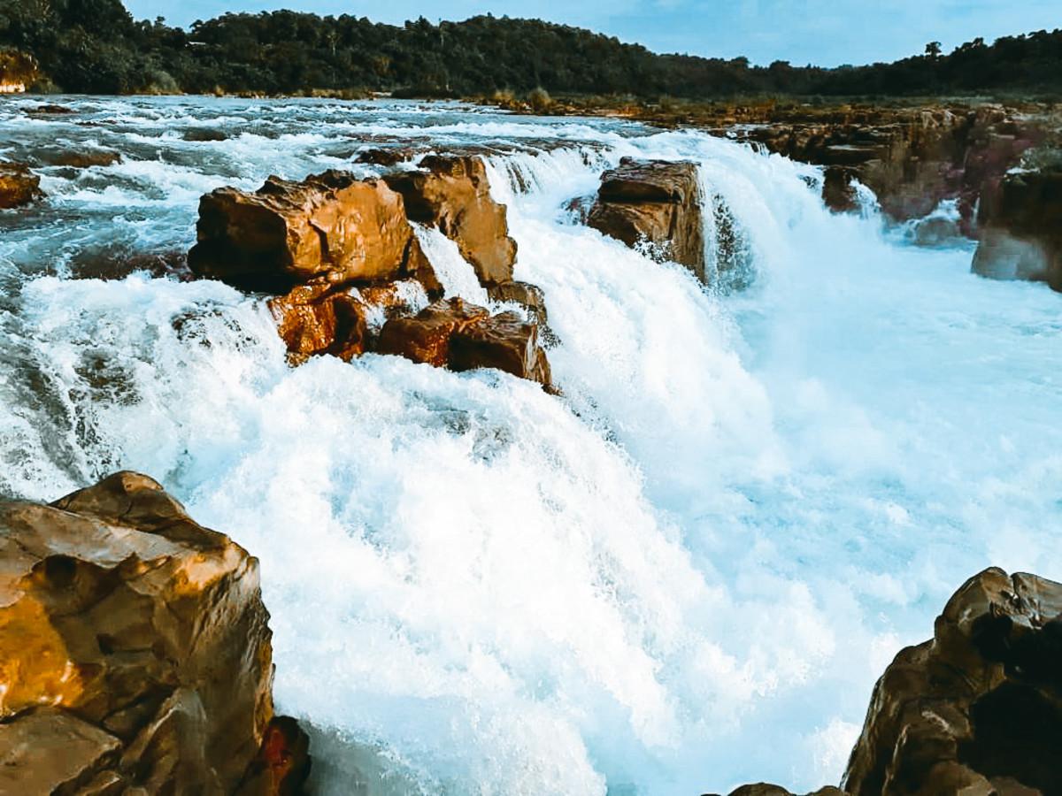 Panimur falls of Assam