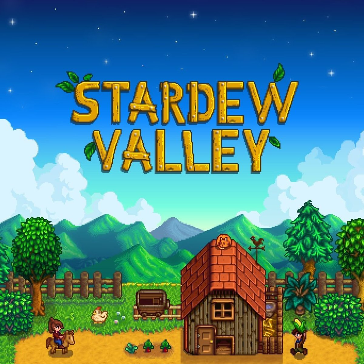 Redeem full game of Stardew Valley. A $7.99 value.