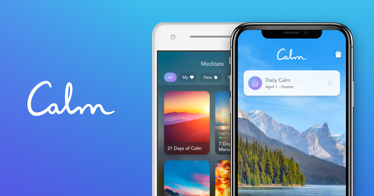 30 days of free premium service from Calm