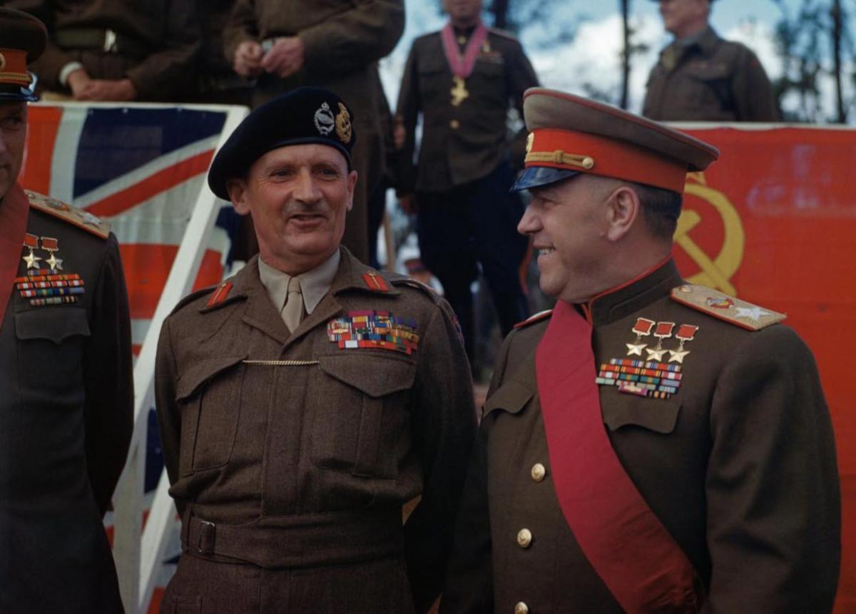 Zhukov with Monty