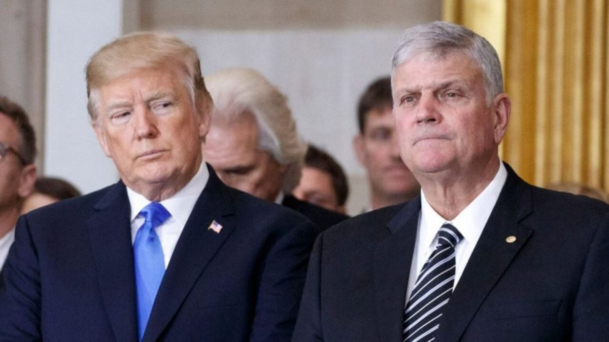 Franklin Graham May Be Forced to Resign From Samaritan's Purse