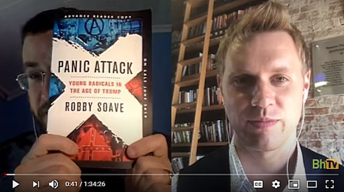Panic Attack author Bobby Soave interview on Bloggingheads.tv