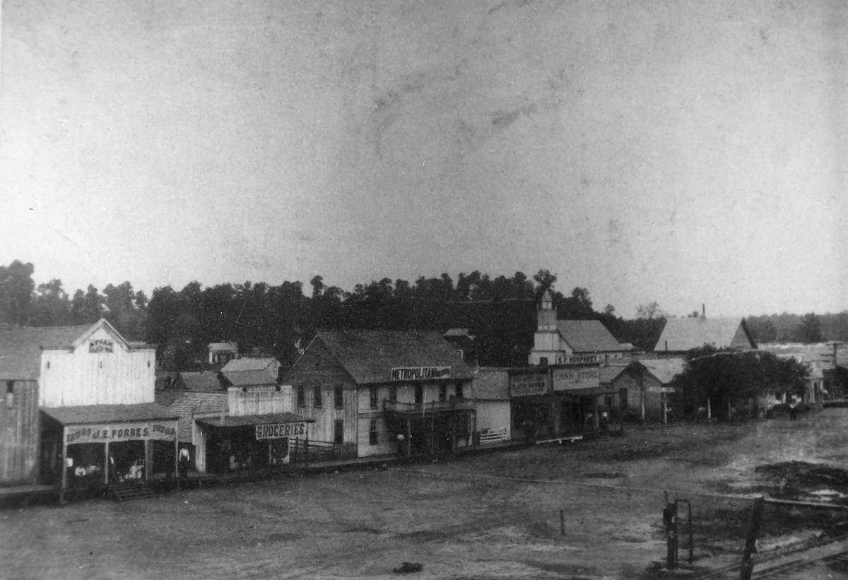 Old Poteau Switch, 1898