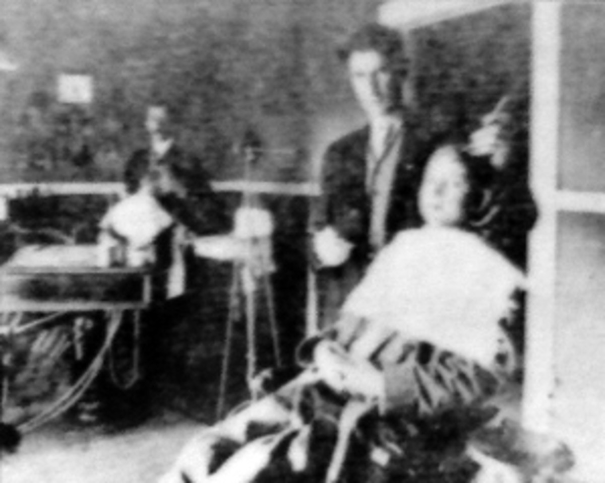Barber, late 1800s