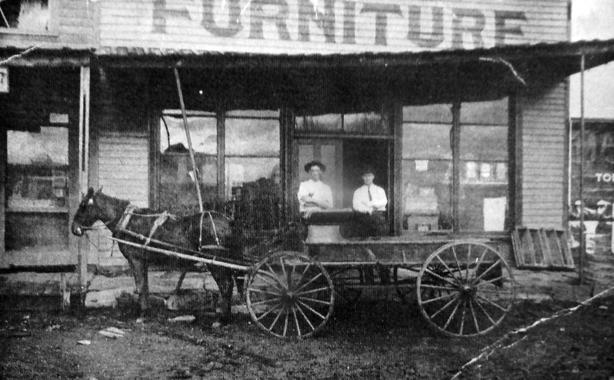 Bridgman's Furniture, late 1800s