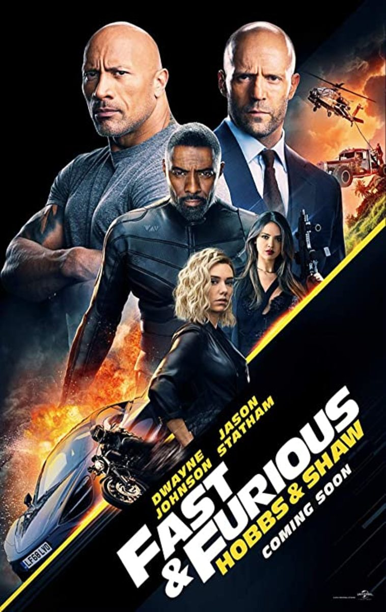 """Fast & Furious Presents: Hobbs & Shaw"" movie poster"