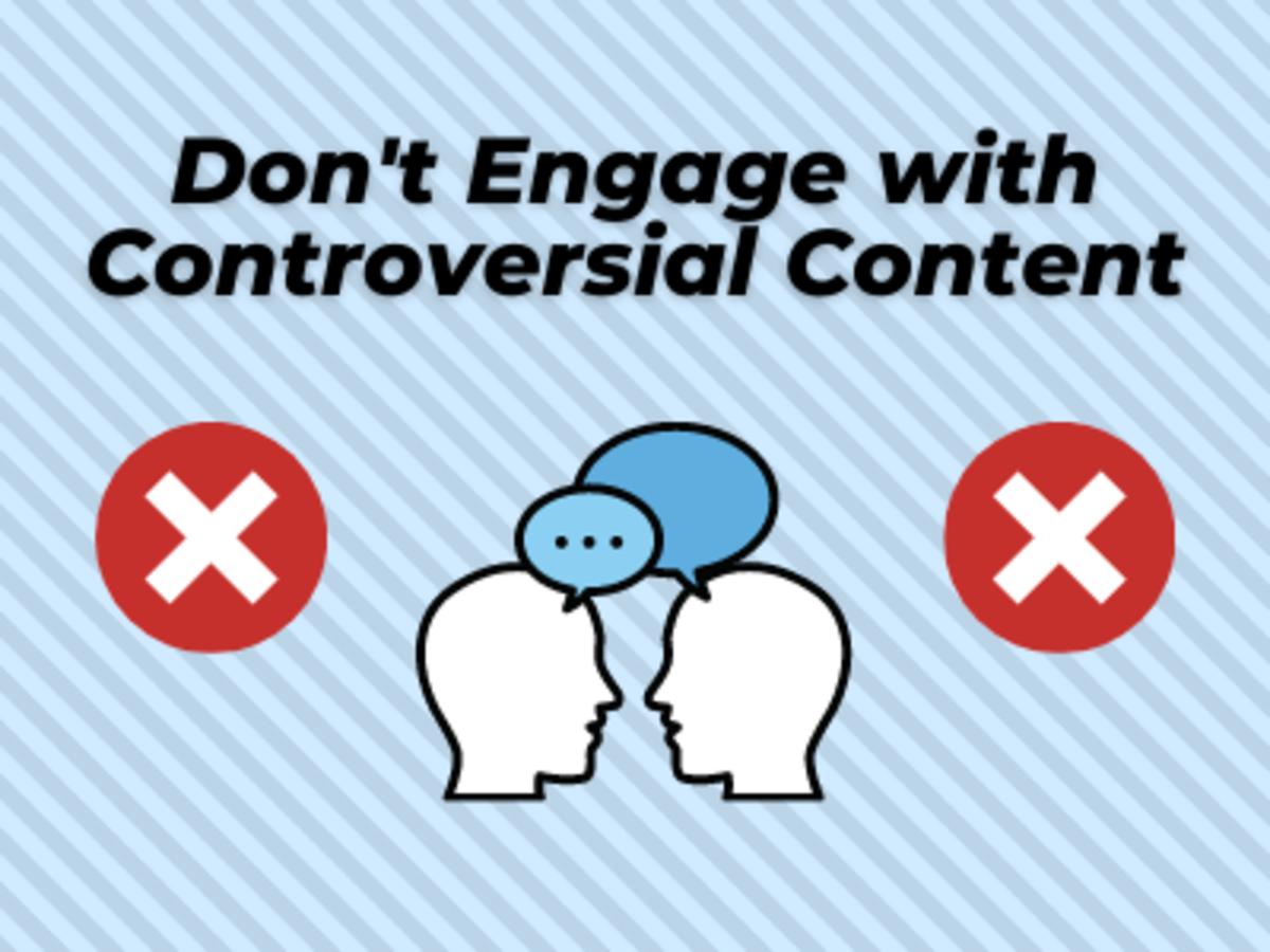 Avoid Interacting on Sensitive Topics