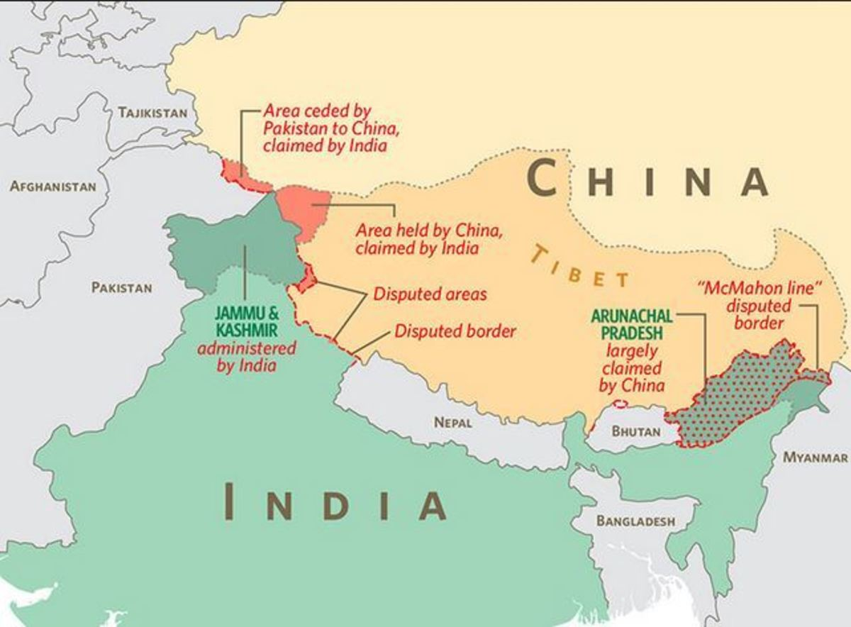 China and India Are Facing Each Other on the Northerner Border: is War Looming?