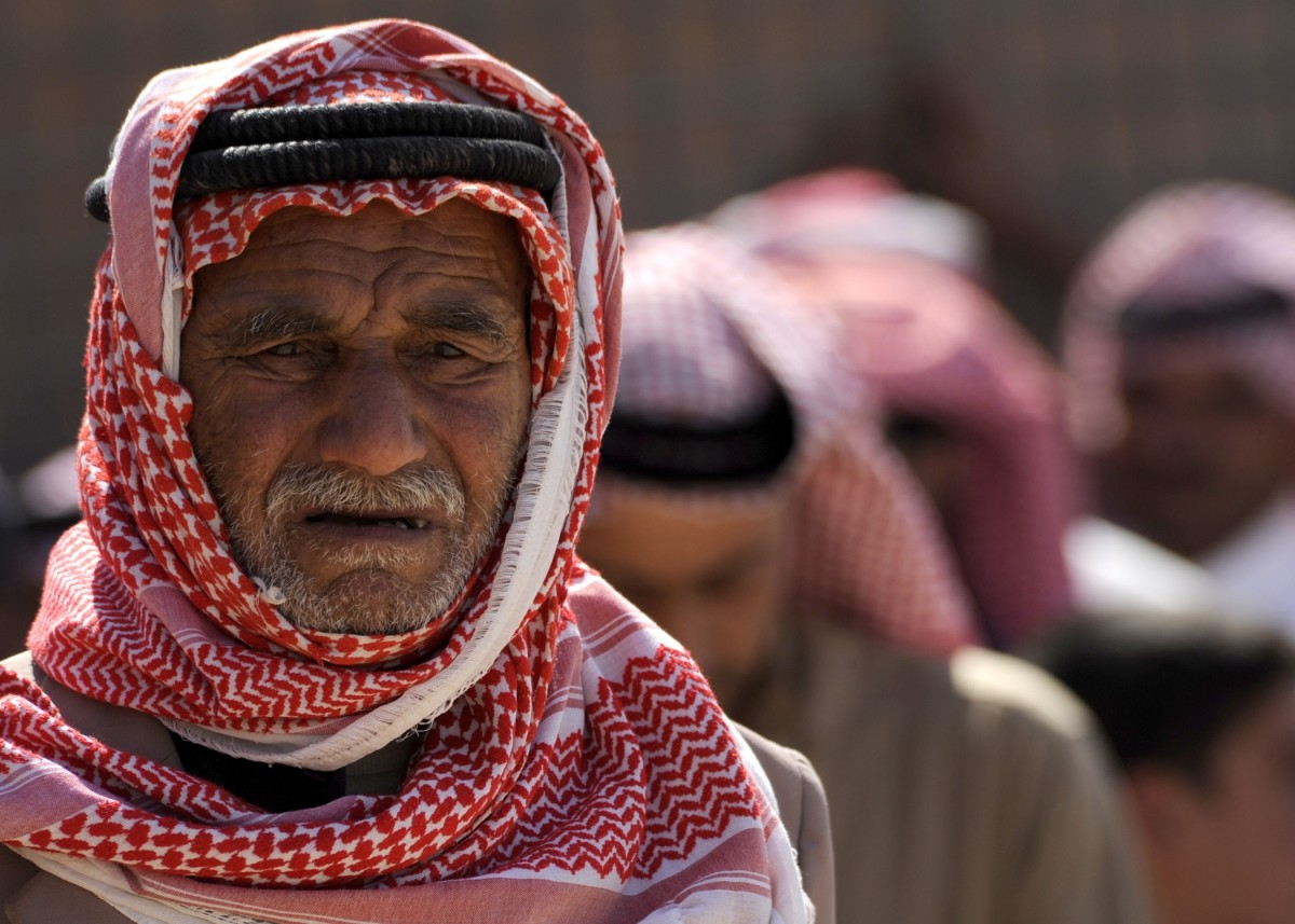 A Saudi Arabian man portrait