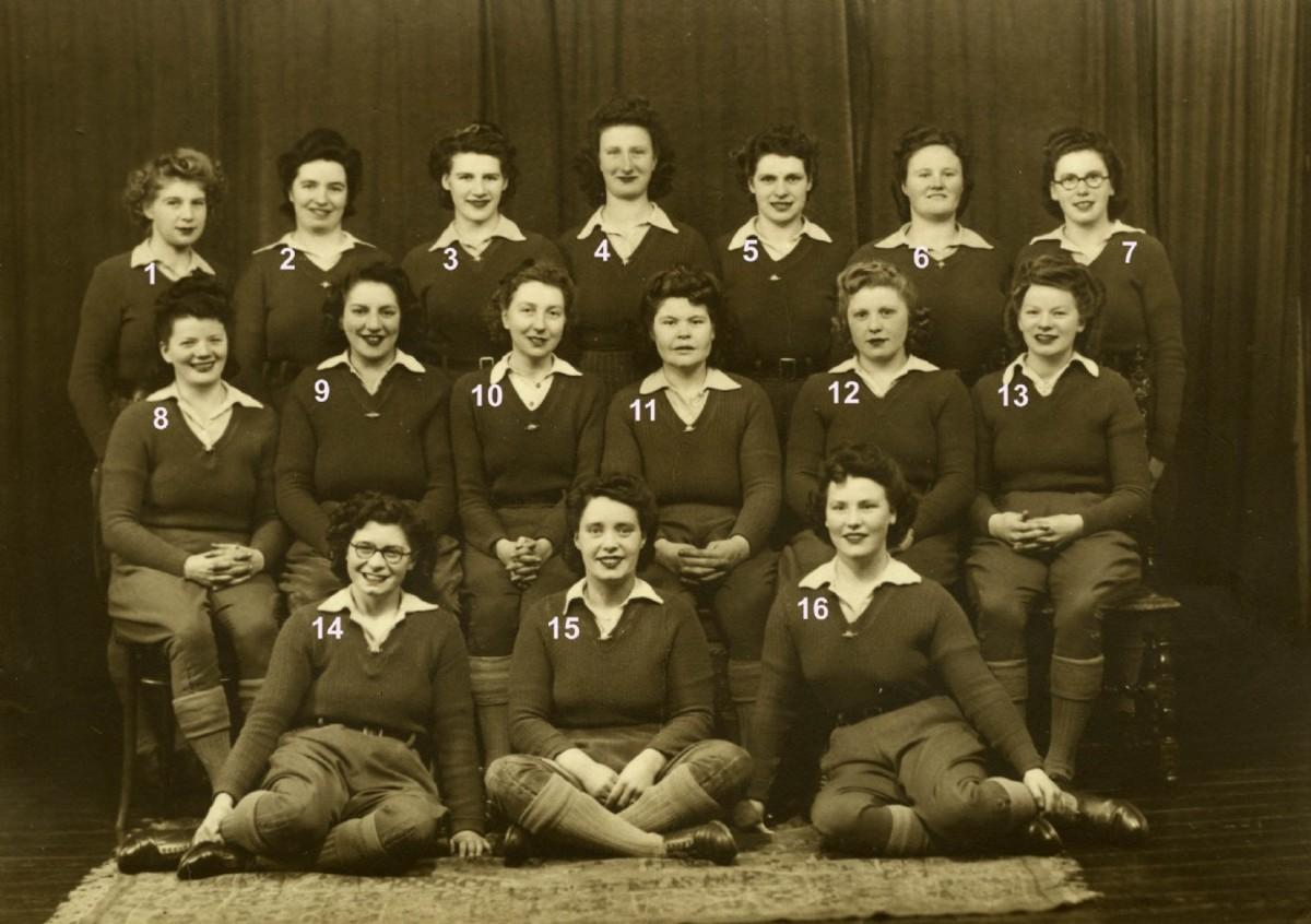 Lumber Jills of WW II