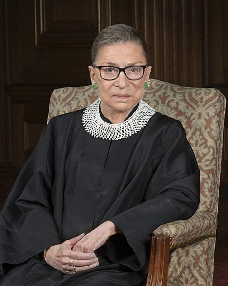 Justice Ruth Bader Ginsburg March 15, 1933 – September 18, 2020