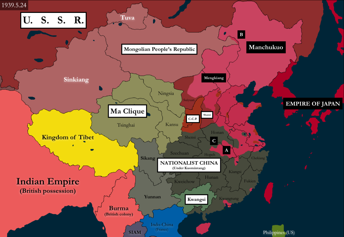 The Japanese Invasion and Occupation of China During World War II