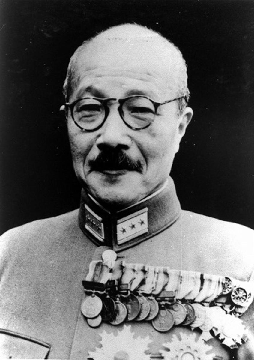 Gen Hideki Tojo 40th PM of Japan