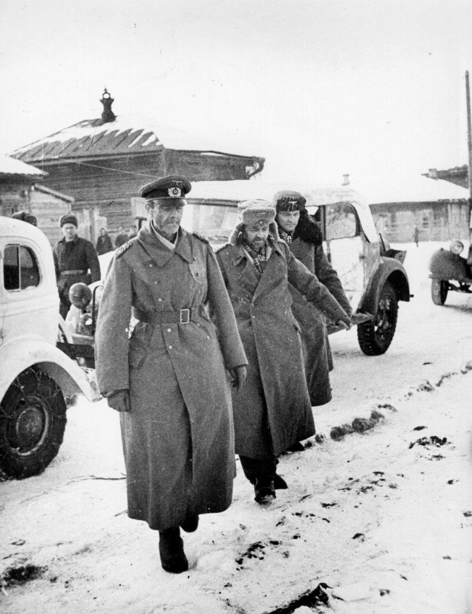 Epilogue to Stalingrad the Resistance of German Troops in Pockets After Surrender