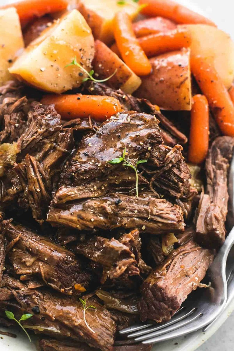 This show stopper  Pot Roast from lecremedelacrumb.com is perfect for your next special occasion dinner.