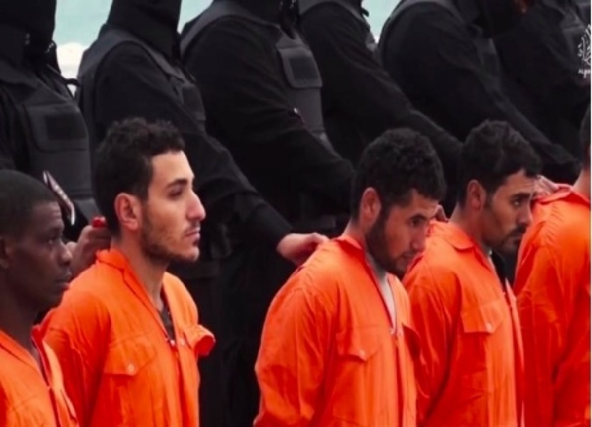 Christian about to be executed by ISIS
