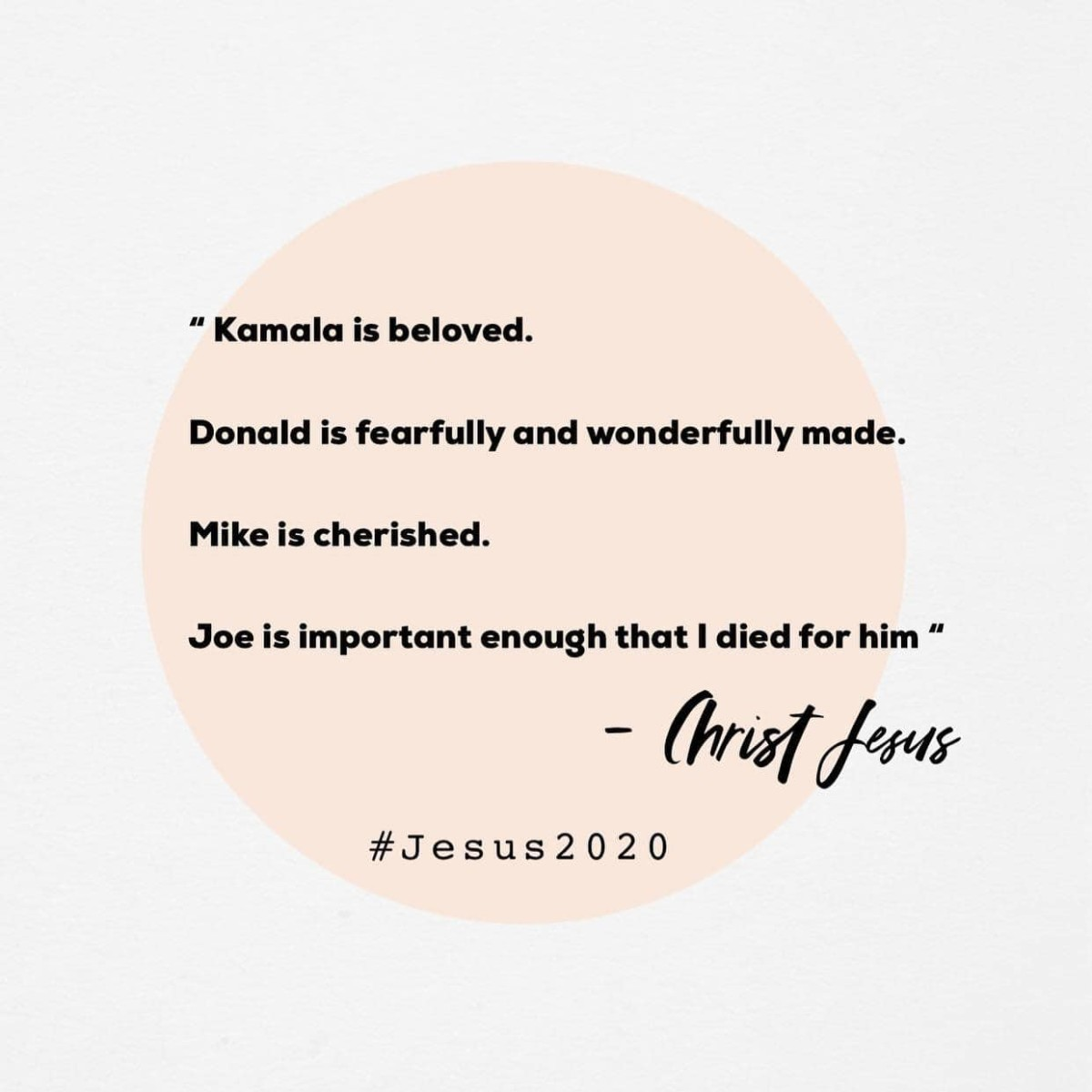 How Does God See Our 2020 Candidates?