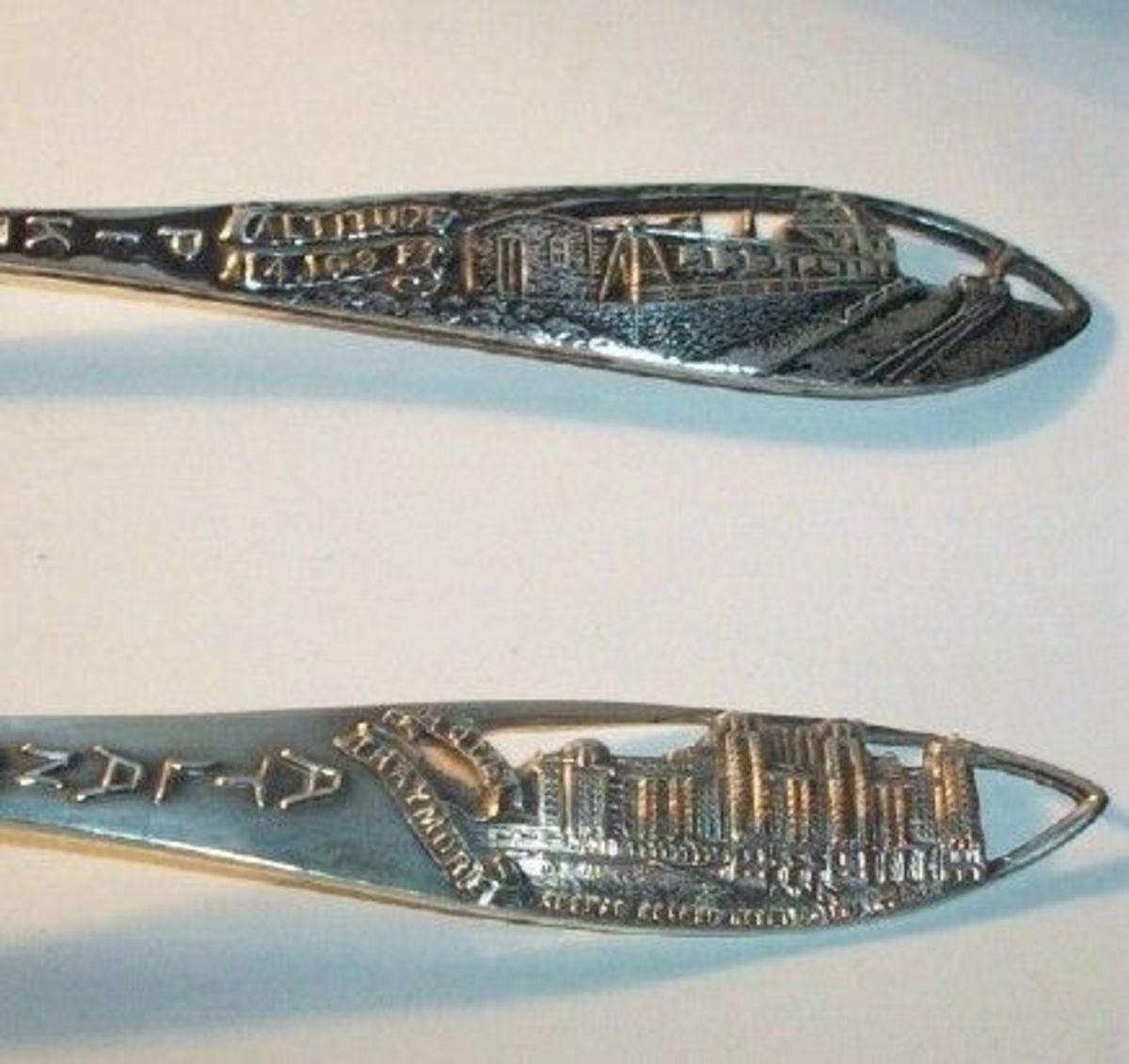 Sterling Souvenir Spoons, Photo Credit: Bexley