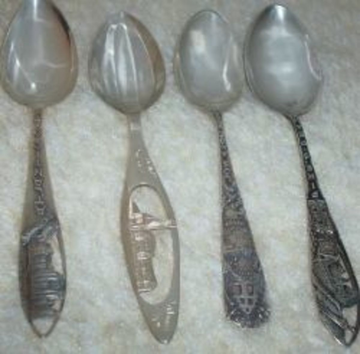 Collecting Sterling Silver Souvenir Spoons