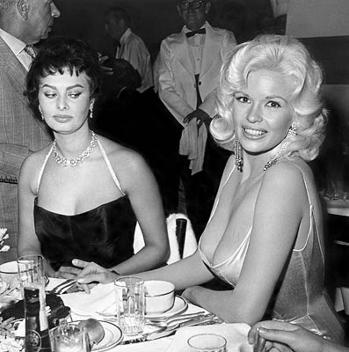 Sofia Loren & Jayne Mansfield