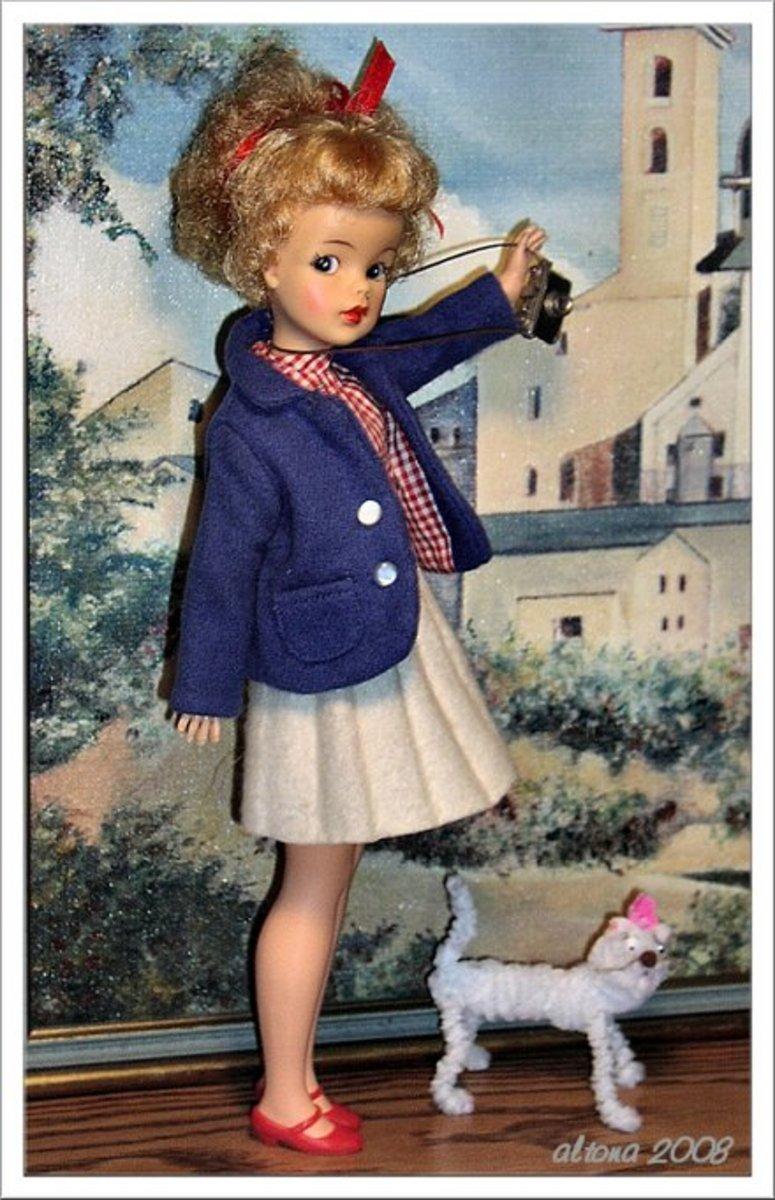 Restored Ideal Tammy Dolls by Altona